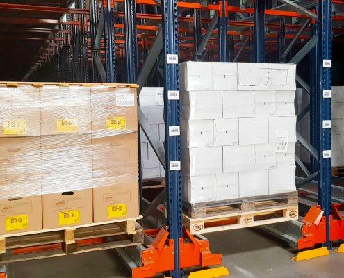Archivage de documents de la base logistique Stock + à Niort, Deux-Sèvres, Nouvelle-Aquitaine, France